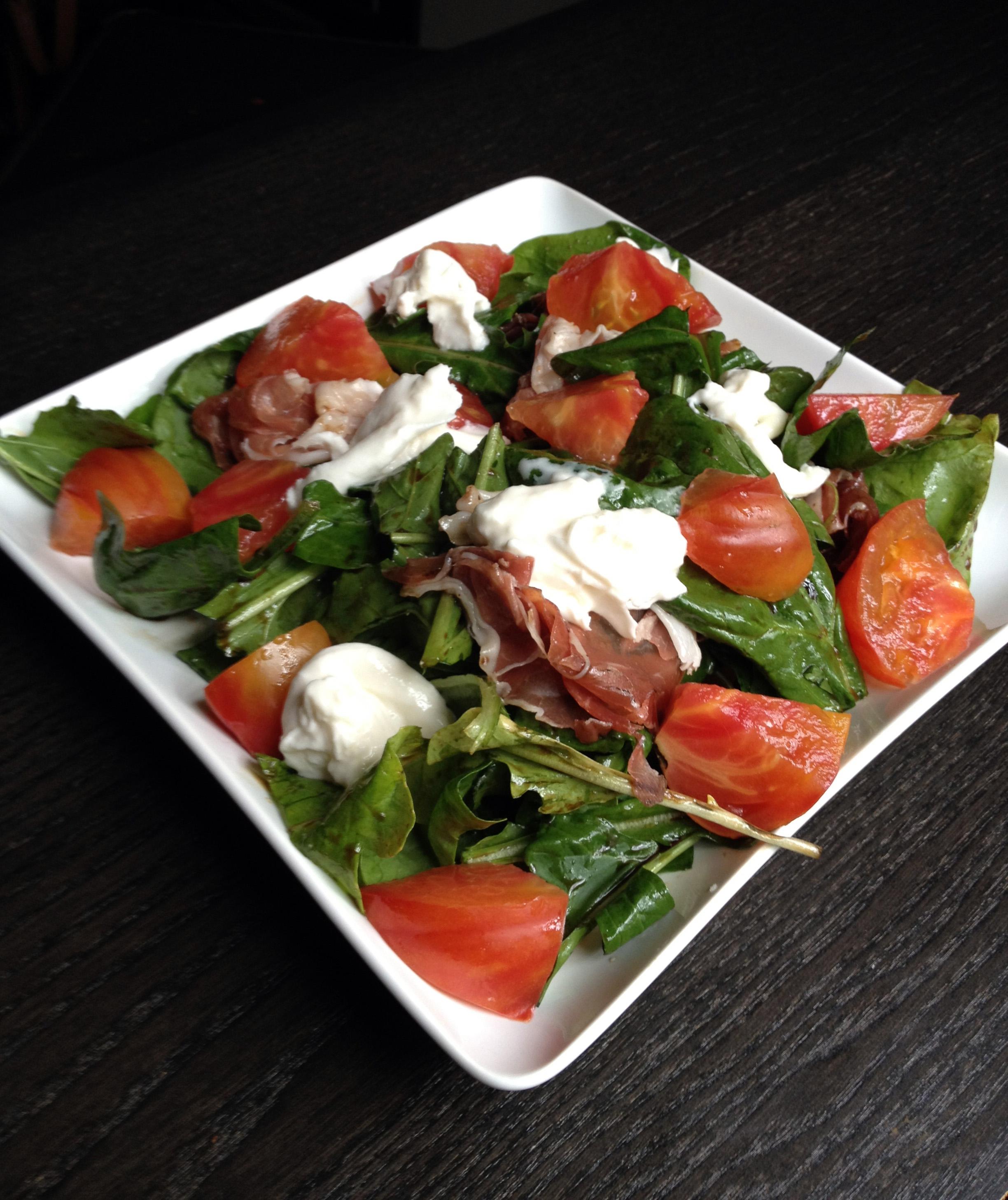 A Simple Tomato + Burrata Salad Recipes — Dishmaps