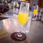 FIG brunch mimosas