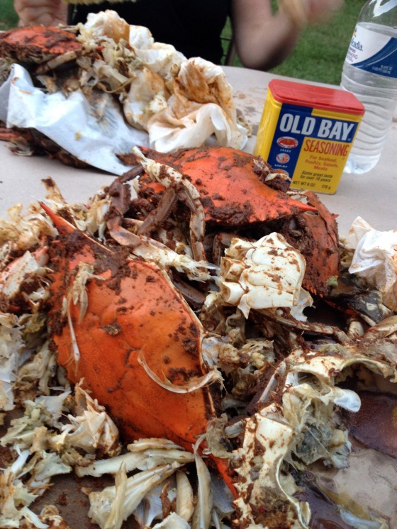 crabs and old bay