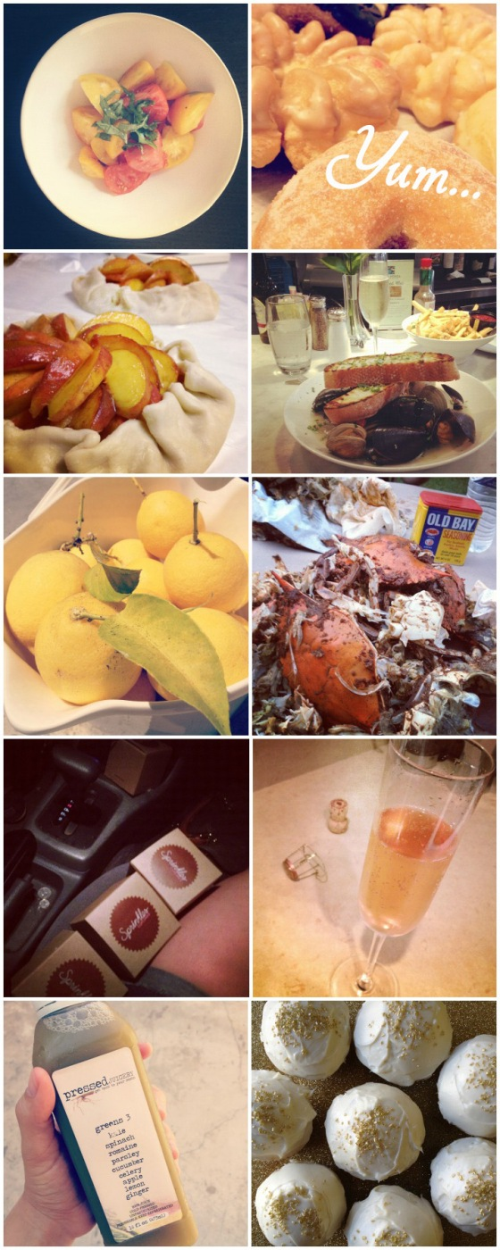 Delicious Food I ate in August