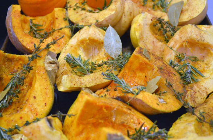 roasting squashes
