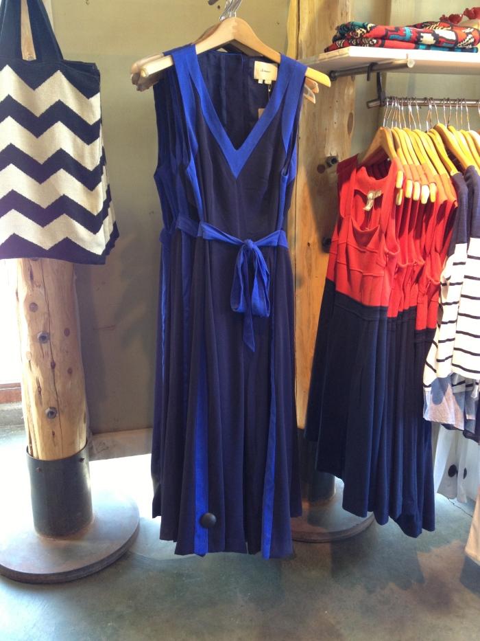 blue anthropologie jumpsuit