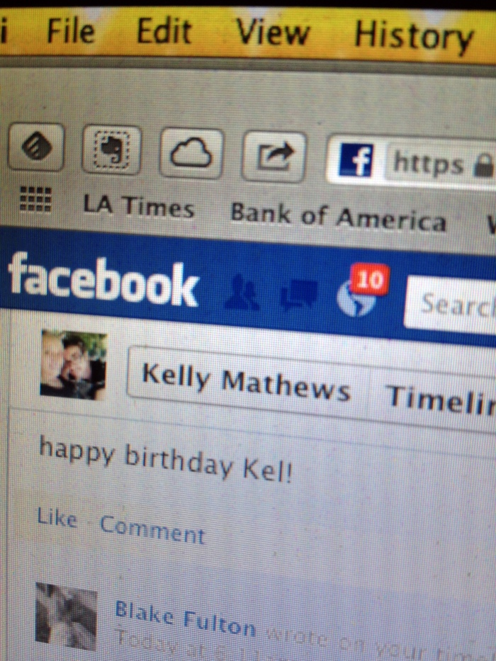facebook birthday notifications