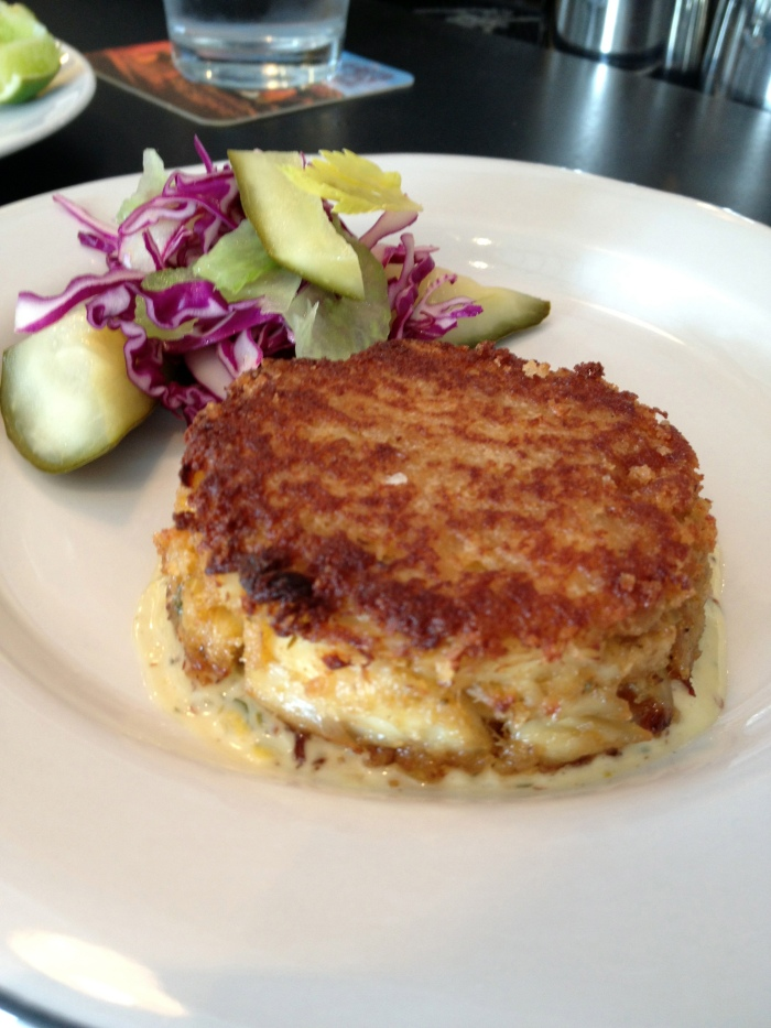 Fishing With Dynamite Crab Cake