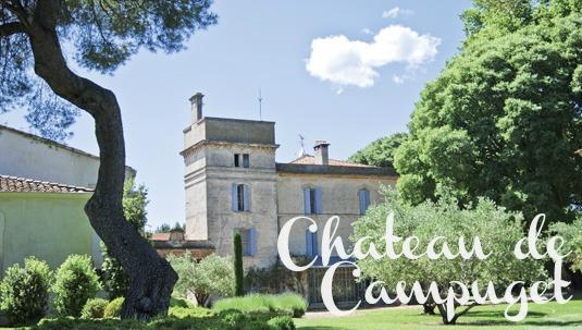chateau de Campuget
