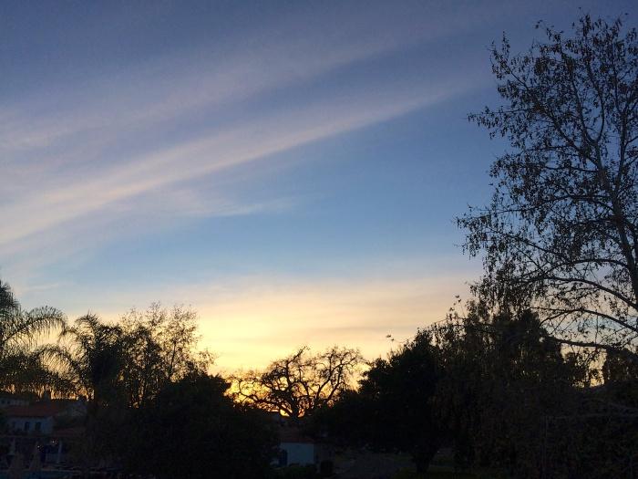 Ojai Valley Inn Sunset