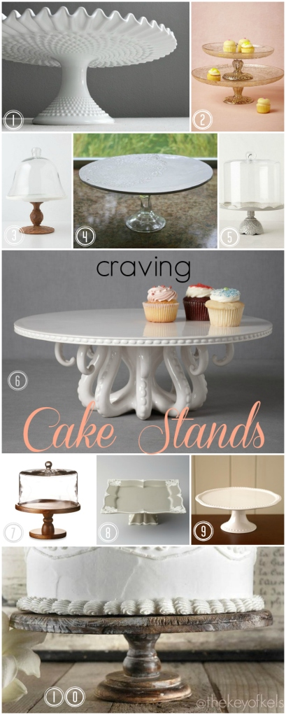 Craving Cake Stands @thekeyofkels