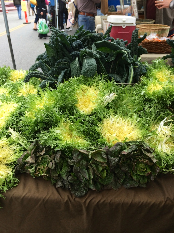 spring at santa monica farmers market