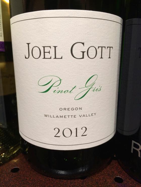 joel gott Pinot gris