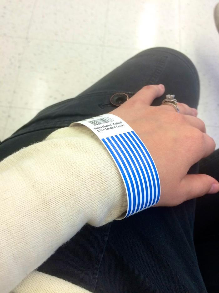 kels hospital bracelet